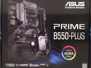 ASUS PRIME B550-PLUS AM4. Noua / Новая