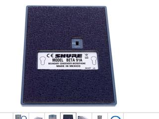 Microfon Shure Beta 91A Bundle