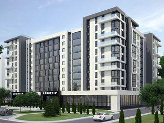 Apartament unic in bloc nou. 2 camere - 59 m.p. et 8