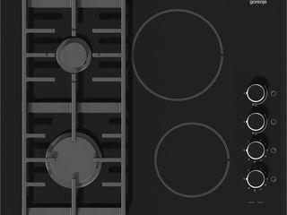 Gorenje KC621UUSC, mixta, 4 zone de gatit, negru, Preț nou:5099lei. Hamster.