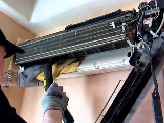 Чистка, техническое обслуживание и ремонт кондиционеров.  Быстро, качественно, чисто!