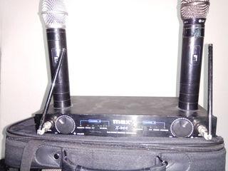 МИкрофоны --Max X966 беспроводные и Shure Beta 902 .