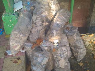 Вывоз строительного и бытового мусора / Îndepărtarea gunoiului de construcție și de uz casnic