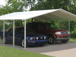 крытая парковка, навес для машины, стоянка для транспорта, лёгкий гараж, дачный гараж, теневой навес