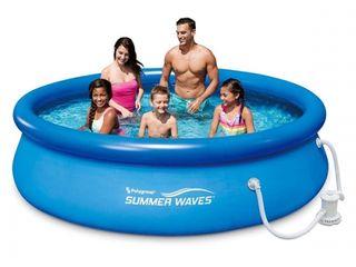 Бассейн 3200 л, 305x76 см Polygroup Summer Waves/Piscină/ Bazin+Pompă de filtrare/Livrare Gratuita