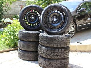 R16, 205/55 Cauciucuri de iarna, зимняя резина, Continental..Pirelli, Skoda, Volkswagen, Audi,Seat
