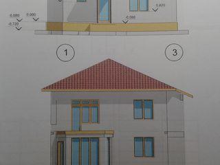 Дом, сад и огород, также есть готовый проект под строительство второго дома.двухэтажного