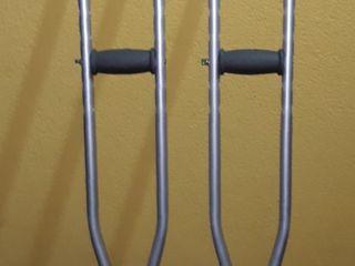 Костыли подмышечные алюминиевые б/у