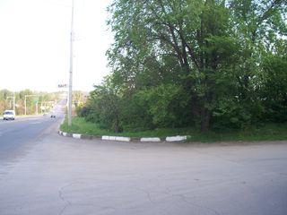 Участок на въезде в Бэлць