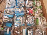 Baterii (robinete) pentru baie, lavoar, bucatarie, bideu. Piese de schimb, reparatie. Preturi mici.