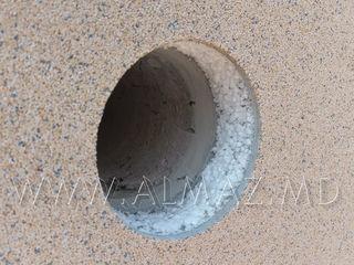 Алмазное сверление без воды - Для вентиляции.Foraj diamant fără utilizarea apei Gaura!! Mersedes