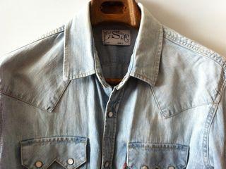 Мужская джинсовая рубашка Levis