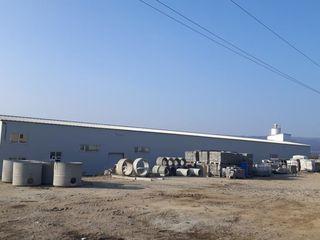 Uzina de confectionare a prefabricatelor din beton, cu o suprafata de 5,3 ha in Romania.
