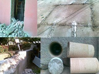 сверление,Вырубка бетона+Асфальторез,алмазная резка