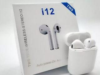 Беспроводные сенсорные Bluetooth наушники i12-TWS