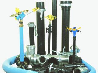 Дождевальный полив трубопроводного типа