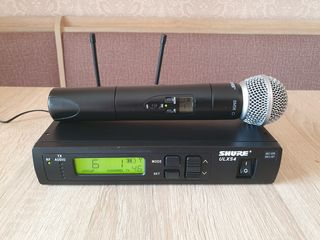 Shure ULXS SM58. Microfon vocal Profesional. Original - Made in Mexico. Frecvente bune!