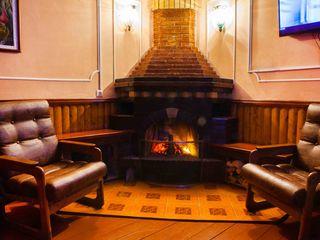 Sauna Vinatorului, încălzită cu lemne!