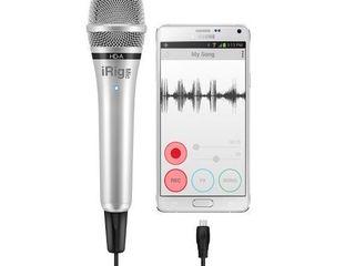 iRig HD - профессиональный вокальный ручной микрофон Microfon profesional