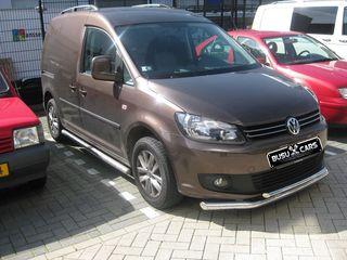 Kенгурятник / Bara de protectie fata inox Volkswagen Caddy 2010 - 2014