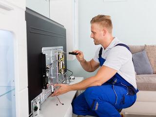 Срочный ремонт телевизоров и мониторов на дому. Бесплатный выезд. Запчасти
