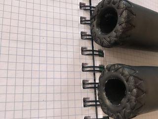 Грипсы xlc кожзаменитель, 120 мм, черные - новые, с заглушками - 150 лей  вот цена в магазине - http