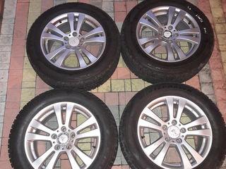 4 roti de iarna noi Mercedes E