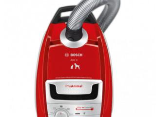 Пылесос Bosch BSGL5333  С мешком/ 850 Вт/ Черный Красный