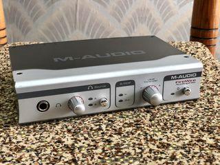 Cartela  M-Audio FireWire Audiophile