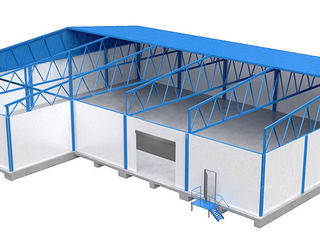 Быстровозводимые здания из металлоконструкций для гражданских и промышленных целей