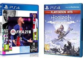 Аккаунт: FIFA 21 + Horizon Zero Dawn Complete Edition =250 лей!! PS+ 12мес =750 лей!!