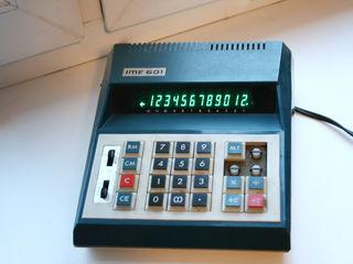 Калькулятор IME 601 сетевой, Италия 1980
