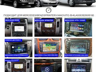 Android navigator DVD для Mercedes Viano Vito, Sprinter, W211, Honda CR-V, C203, Toyota. VW