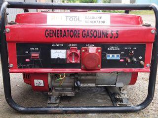 Vind generator pe benzina 3kw la 3 faze