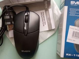 Компьютерная мышь SVEN RX-112 USB, новая в упаковке.