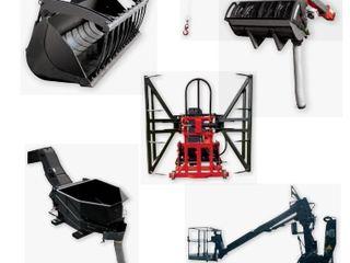 Навесное оборудование к погрузчикам manitou, jcb, merlo, bobcat, dieci, cat, komatsu и др.