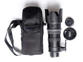 Nikon 70-200mm F/2.8g Ed-if Af-s Vr Nikkor
