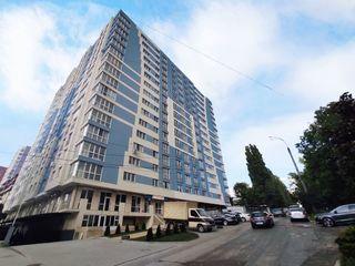 Bloc finalizat, apartament de 74,66 m2 cu 2 odăi! sec. Rîșcani! etajul 2. prețul 54900 euro