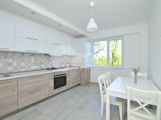 Chirie, apartament nou, reparație euro, 80 mp, Botanica, 420 € !