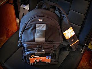 Новый рюкзак для фотокамеры