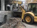 демонтажные работы домов,вывоз мусора.