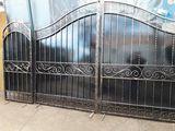 Portii ворота на заказ,калитки замок в подарок ! Выезд по всей Молдове