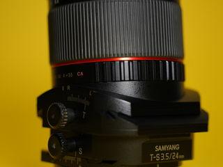 Samyang 24mm f3.5 Tilt Shift T-S
