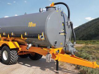 Cisterna de distribuție a îngrășămintelor lichide de 10 tone