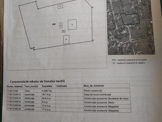 Vind casa in satul Boroseni Noi raionul Riscani