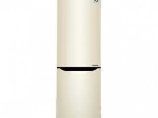 Холодильник lg ga-b419syjl   двухкамерный/ бежевый/ белый