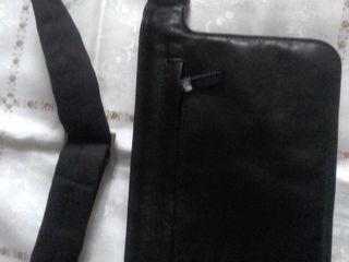 Сумочка на пояс черного цвета .Punga pentru barbat.