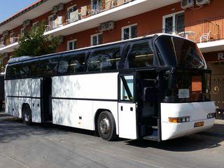 Oferim servicii de transport pasageri prin Moldova (18-53 pers)