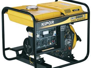 Дизель генераторы Kipor Honda / Generatoare diesel Kipor Honda