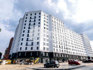 Apartament 2 camere+living, 95 mp, versiune albă, Buiucani - Inmastro Newtown House, 68400 €